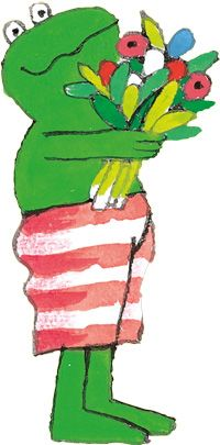 Kikker Verjaardag Vieren Pinterest Frosche Illustration