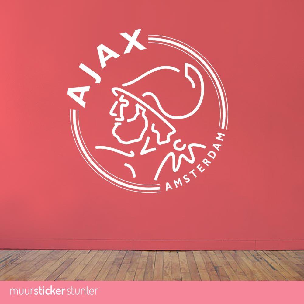 Waar Koop Ik Muurstickers.Ajax Amsterdam Logo Muursticker Al Vanaf 9 95 Kies Je