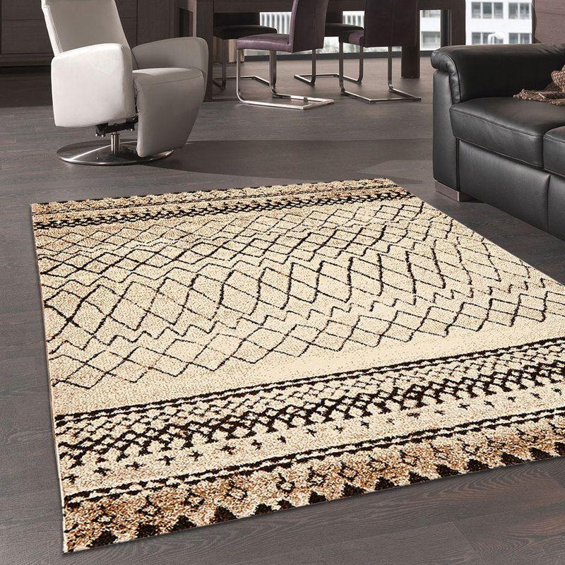 tapis salon moderne design scandinave