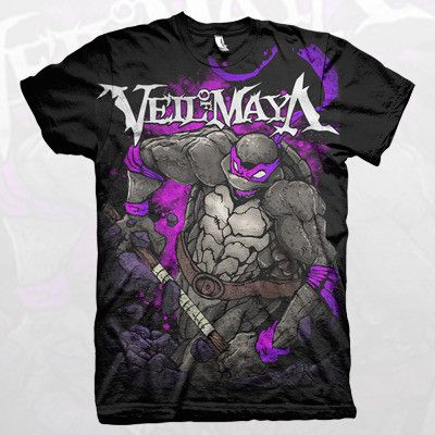 Veil Of Maya Donatello Shirt Band Merch Only Clothing Shirts