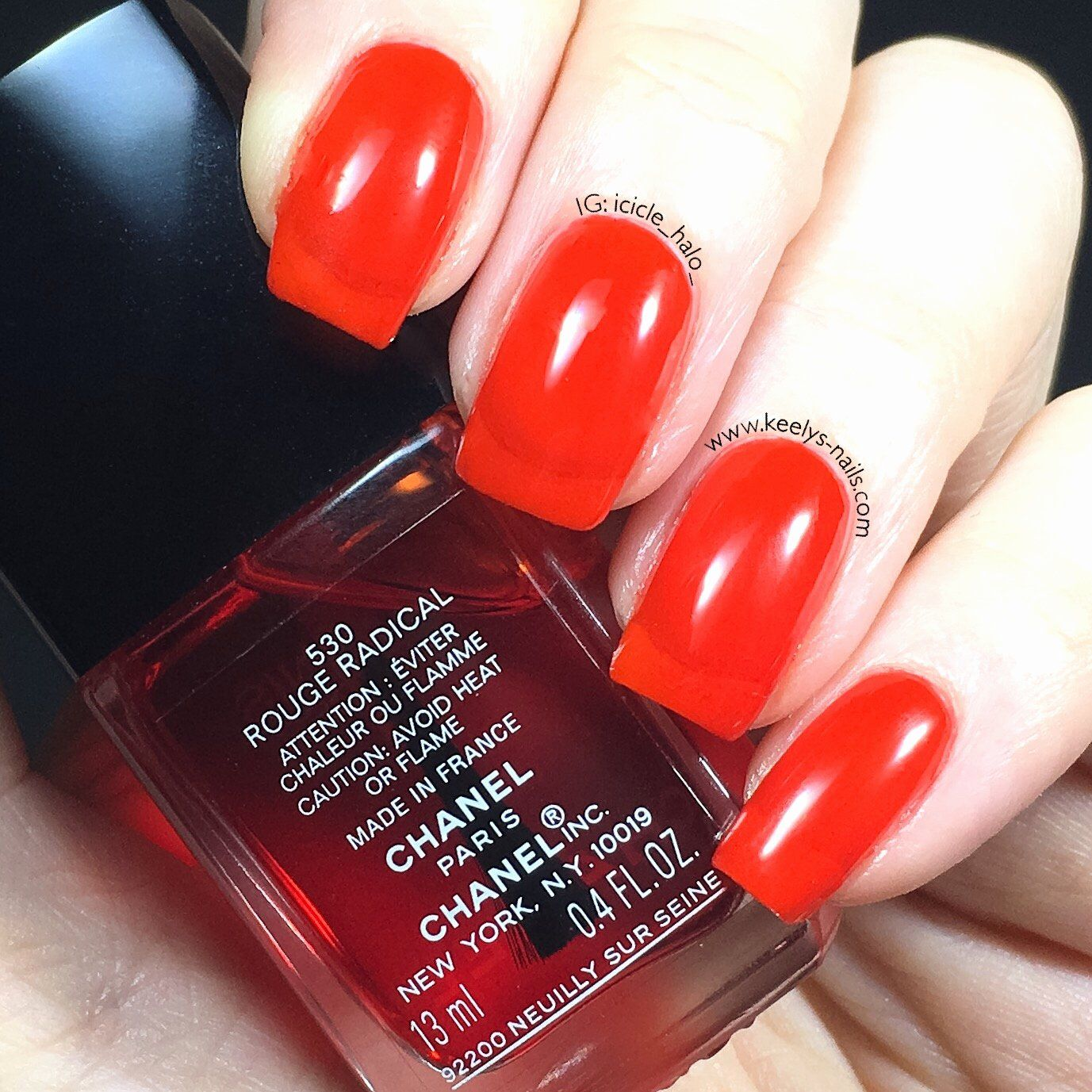 Winter Nail Color 2016 New Chanel Nail Polish Fall 2016 Swatches Keely S Nails In 2020 Winter Nails Colors 2016 Nail Colors Winter Chanel Nail Polish