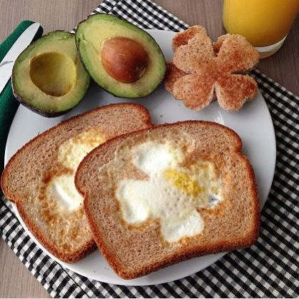 st. patrick's healthy kids breakfast - Google Search