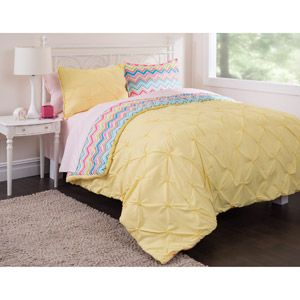 Home Complete Bedding Set Comforter Sets Yellow Bedding