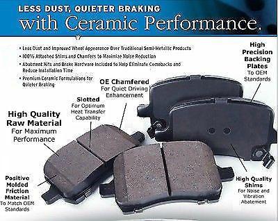 ceramic rear pads brakes brake ultra premium