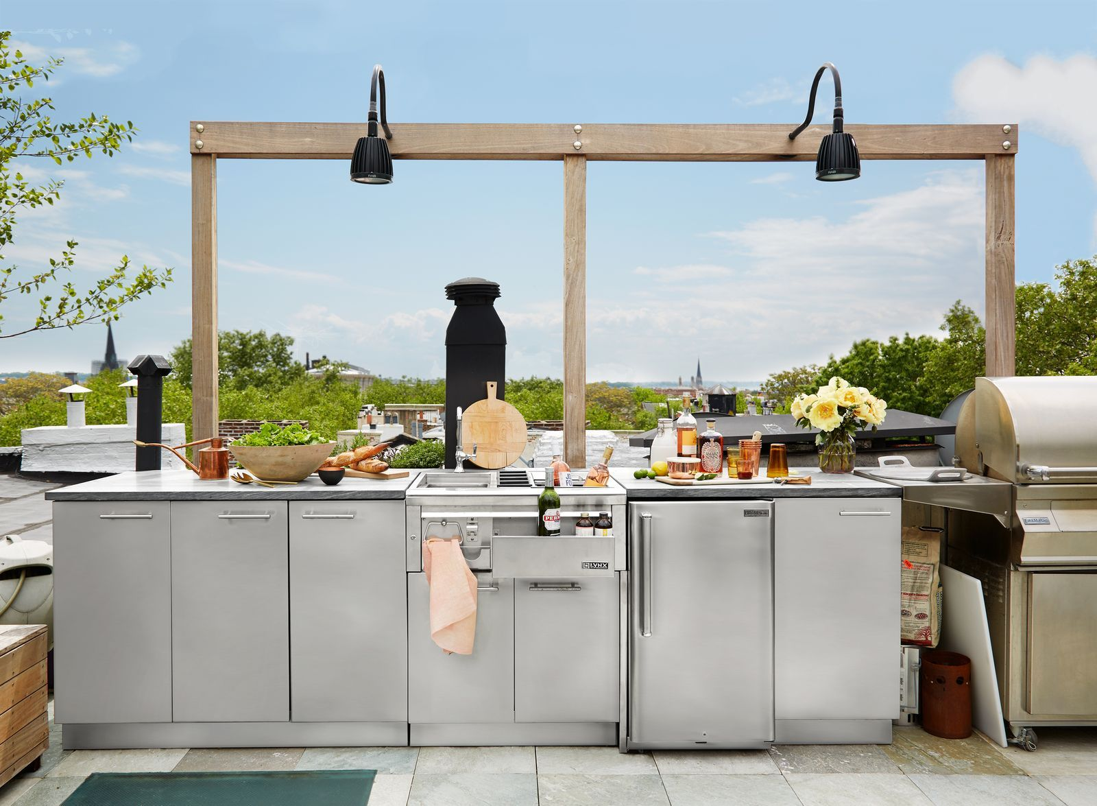 Pin On Outdoor Kitchens And Dining Spaces