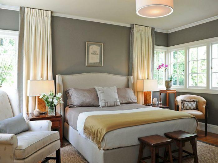 Fensterverdunkelung im Schlafzimmer für Ihren ganz privaten - gardinen fürs schlafzimmer