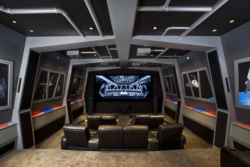 Pics Of The Best Star Wars Inspired Home Theaters Video Game