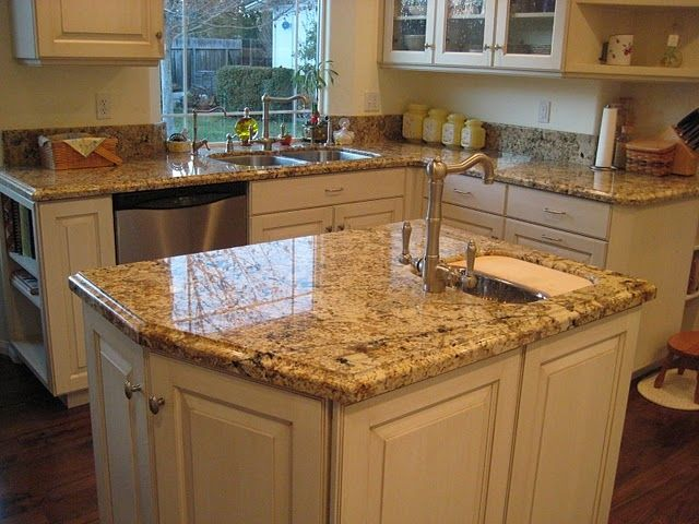Perfect Namibian Gold Granite Countertops