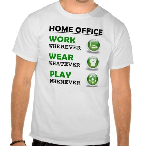 Work From Home Office Funny T-Shirt