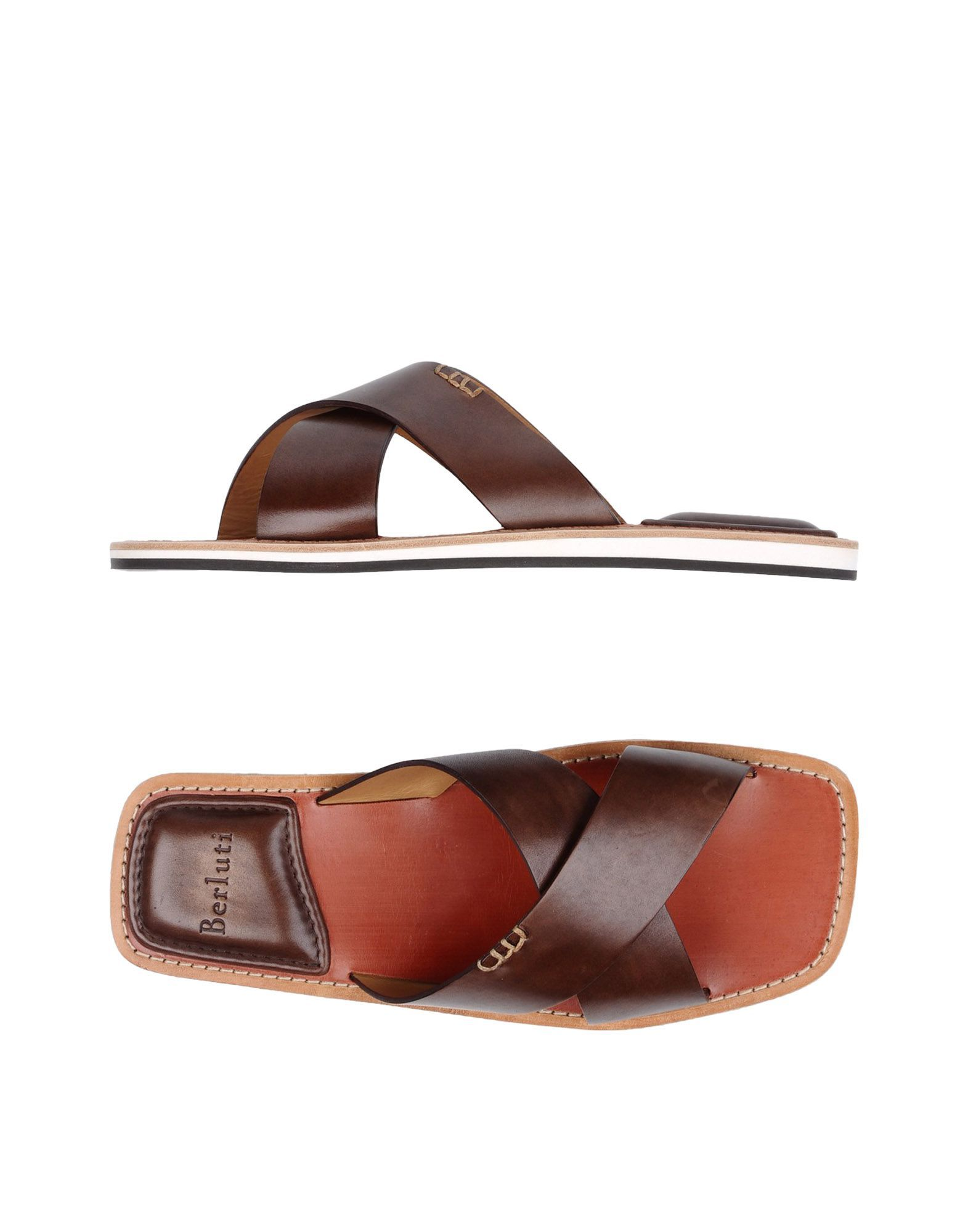b33269eed Berluti Paris Men Sandals on YOOX. The best online selection of Sandals  Berluti Paris. YOOX exclusive items of Italian and international designers  - Secure ...