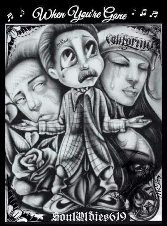 Respect Chicano Art Tattoos Chicano Art Lowrider Art