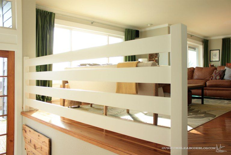 Best Horizontal Railing Straight Side Interior Stair Railing 400 x 300