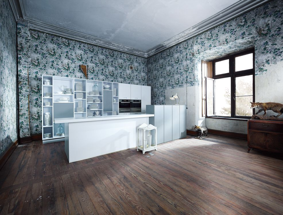 ... Moderne Küche Design Und Noch Mehr! Schüller Next125   NX 902 Glas Matt  Polarisweiß