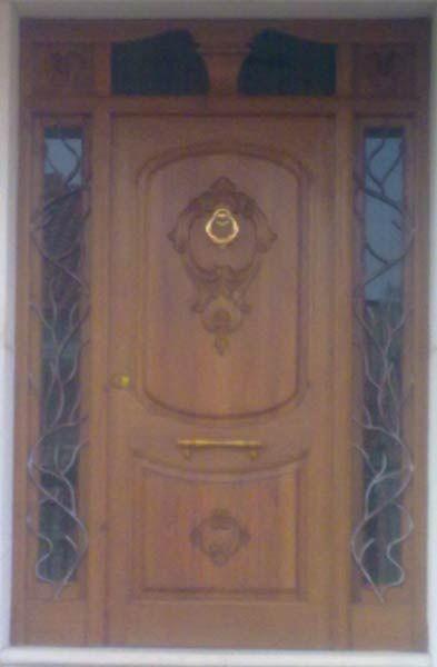 Modelo puerta de madera para exterior ref 46 doors for Modelos de puertas de madera para puerta principal