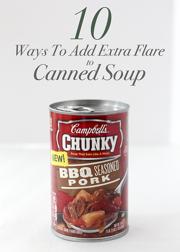 10 can soup