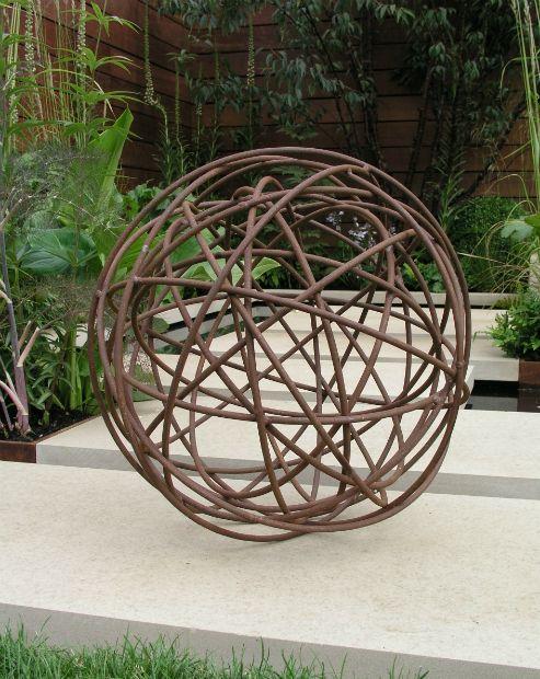 Attractive Metal Garden Sphere, Moore Designs   Motheru0027s Day Gift Ideas With A Rustic  Twist, Eat Sleep Live