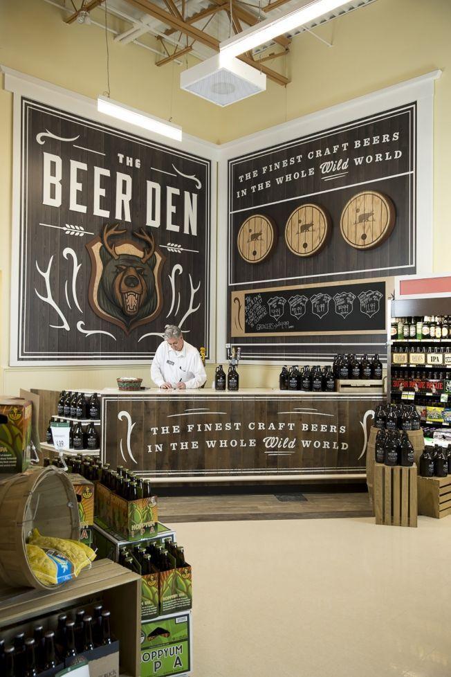 Cheeky Grocery Branding Supermarket design, Store