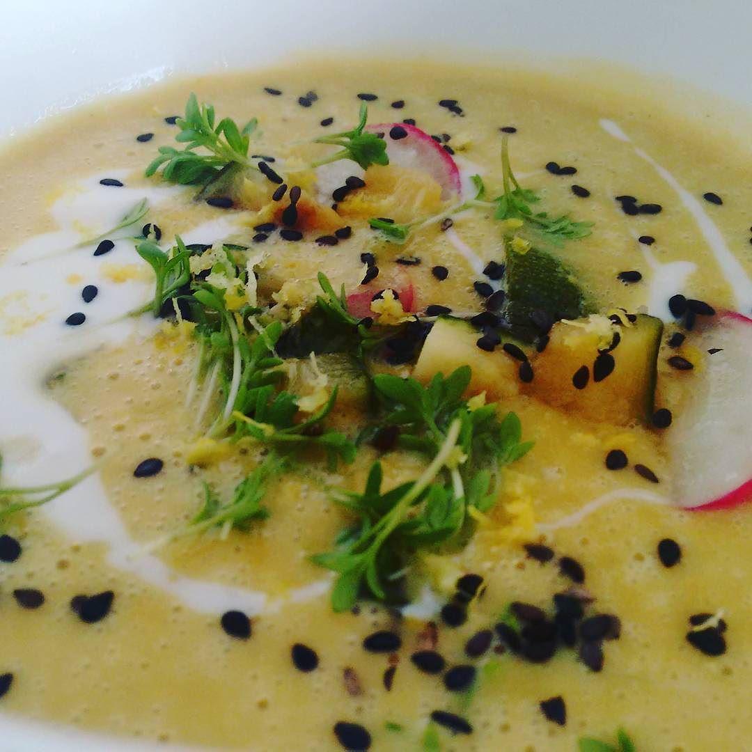 #linsen #suppe #sprossen # Zucchini