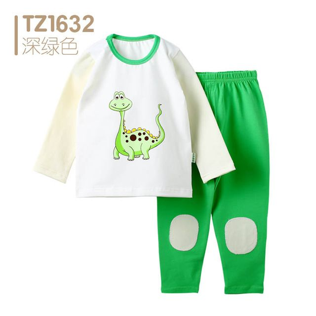 6455fa17d2fb Special price Dinosaur Baby Girls Clothes Suit Newborn Baby Boy ...
