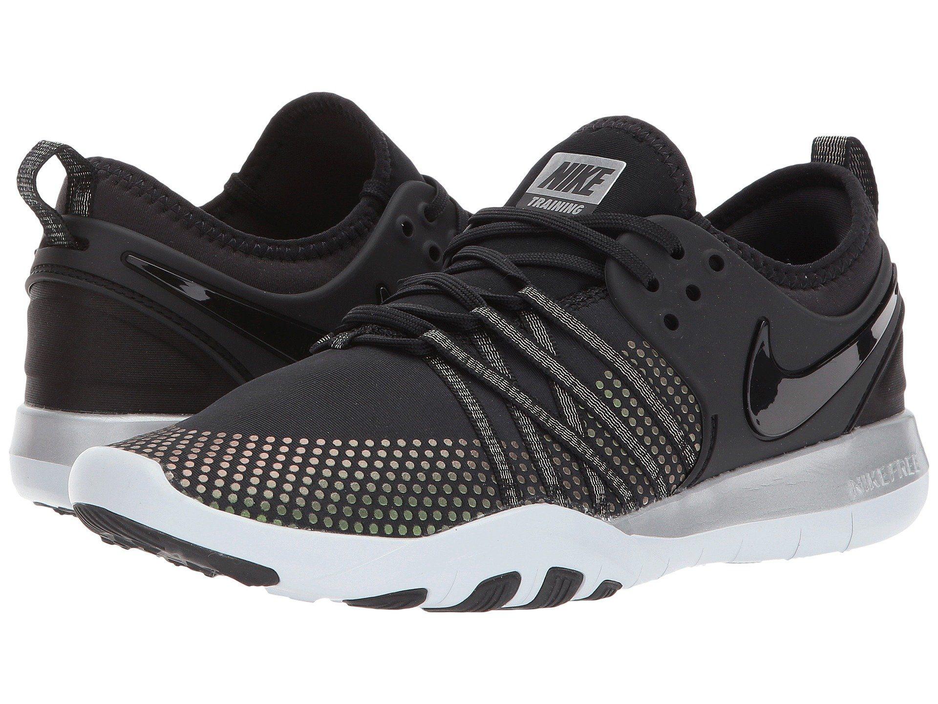 Nike Free Tr 7 Metallic In Black/black