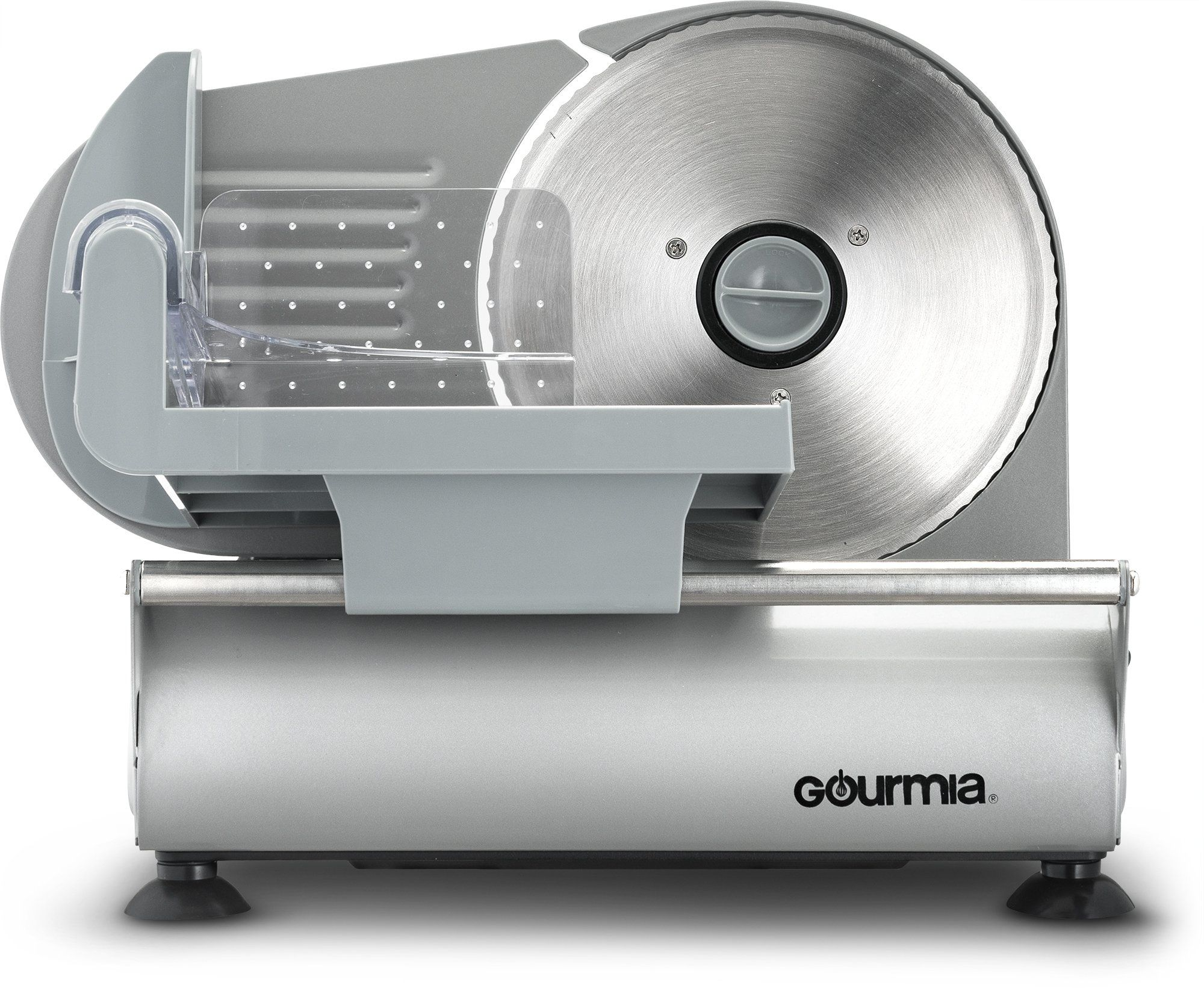 """Gourmia GFS700 Stainless Steel Electric Meat Slicer Deli Cheese Bread 7.5/"""" Blade"""