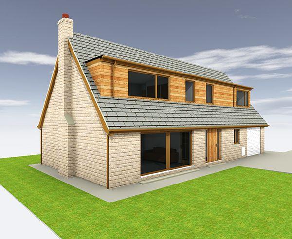 T553 Prop Front With Images Bungalow Extensions Bungalow Design House Plans Farmhouse