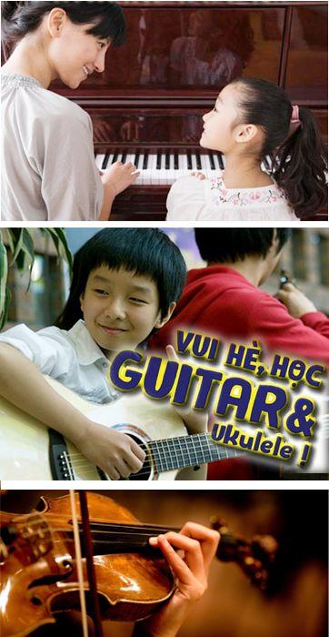 Piano - Organ - Guitar - Ukulele cho trẻ em