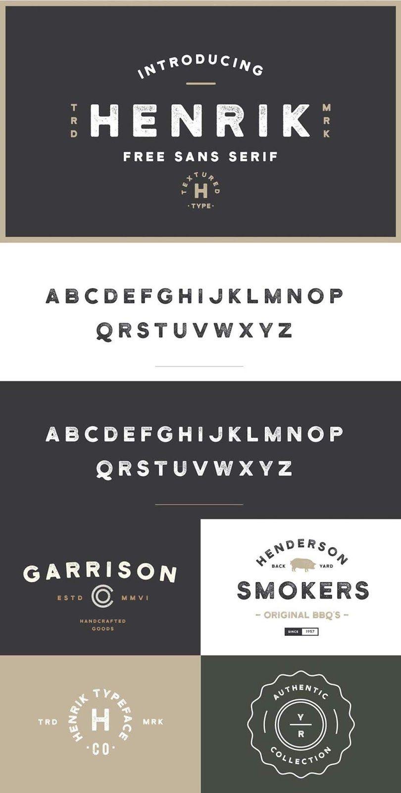 Henrik Sans Serif Font Free Download | Collection Chumbart