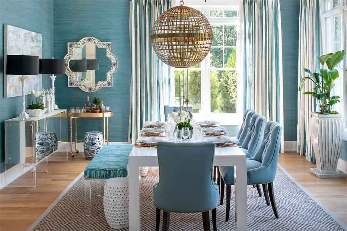 Showhouse Gallery • Grasscloth Wallpaper • Natural