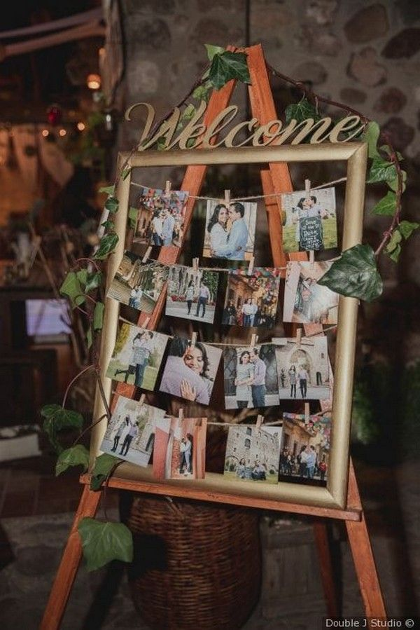 Las 30 mejores ideas para exhibir fotos de bodas en 2020 Wedding | Rosas y Anillos – Parte 2
