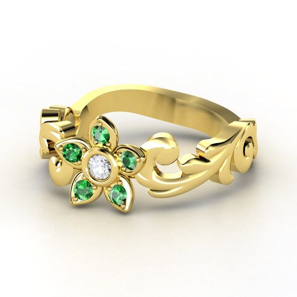 f7a14d6e25ab6 Saria s Song, a Legend of Zelda  Ocarina of Time engagement ring by Olivia  Marie
