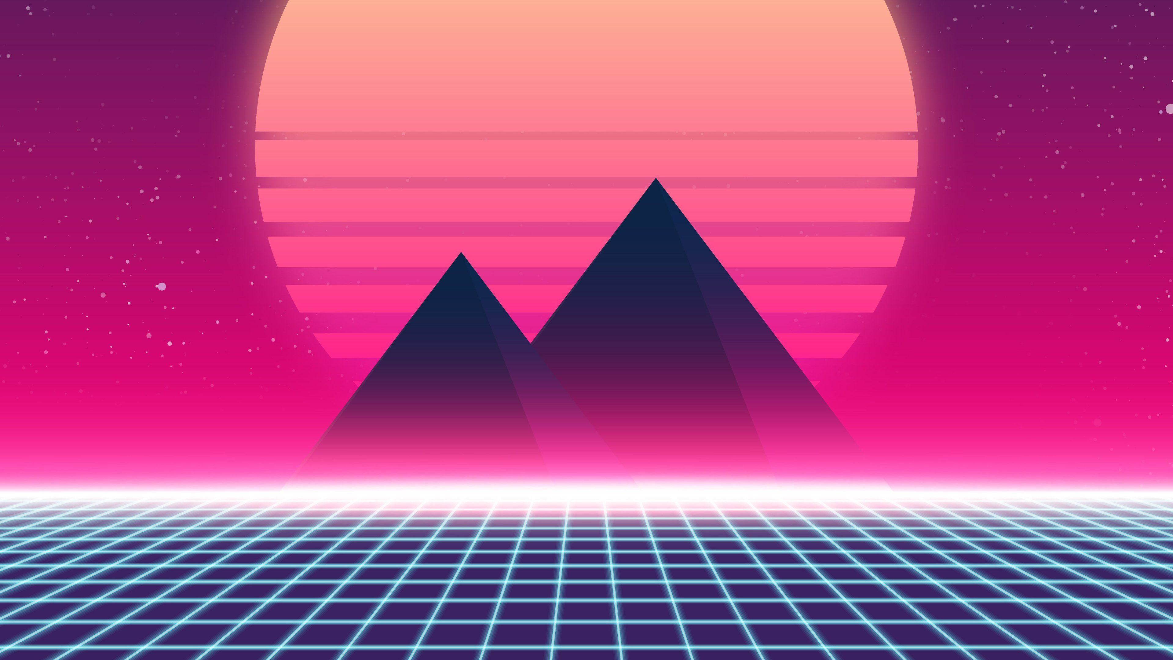 Retrowave 90s 4k Synthwave Wallpapers Retrowave Wallpapers Hd Wallpapers Abstract Wallpapers 5k Wallpapers 4 In 2020 Abstract Wallpaper Abstract Digital Wallpaper