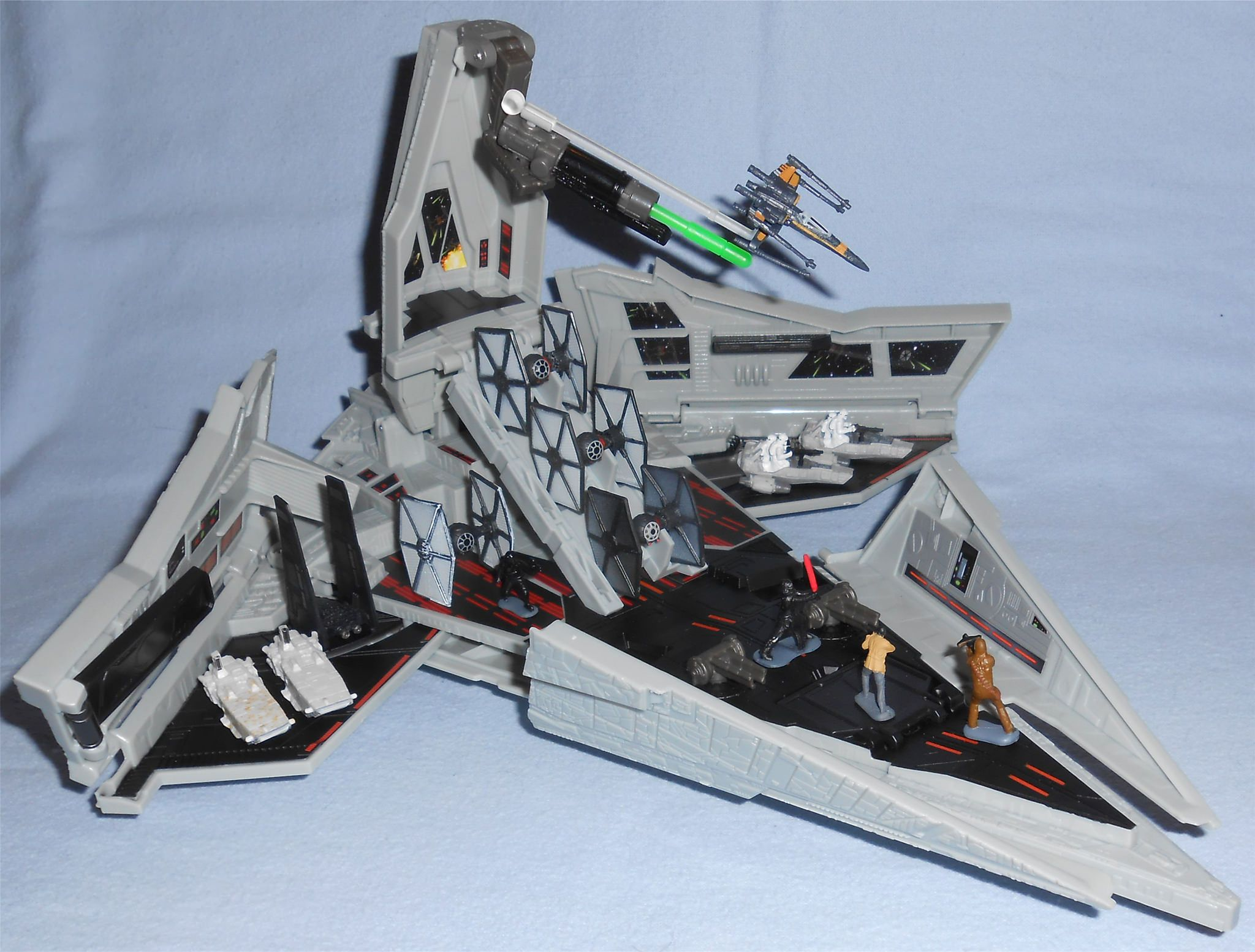 Disney Star Wars The Force Awakens Micro Machines First Order Destroyer