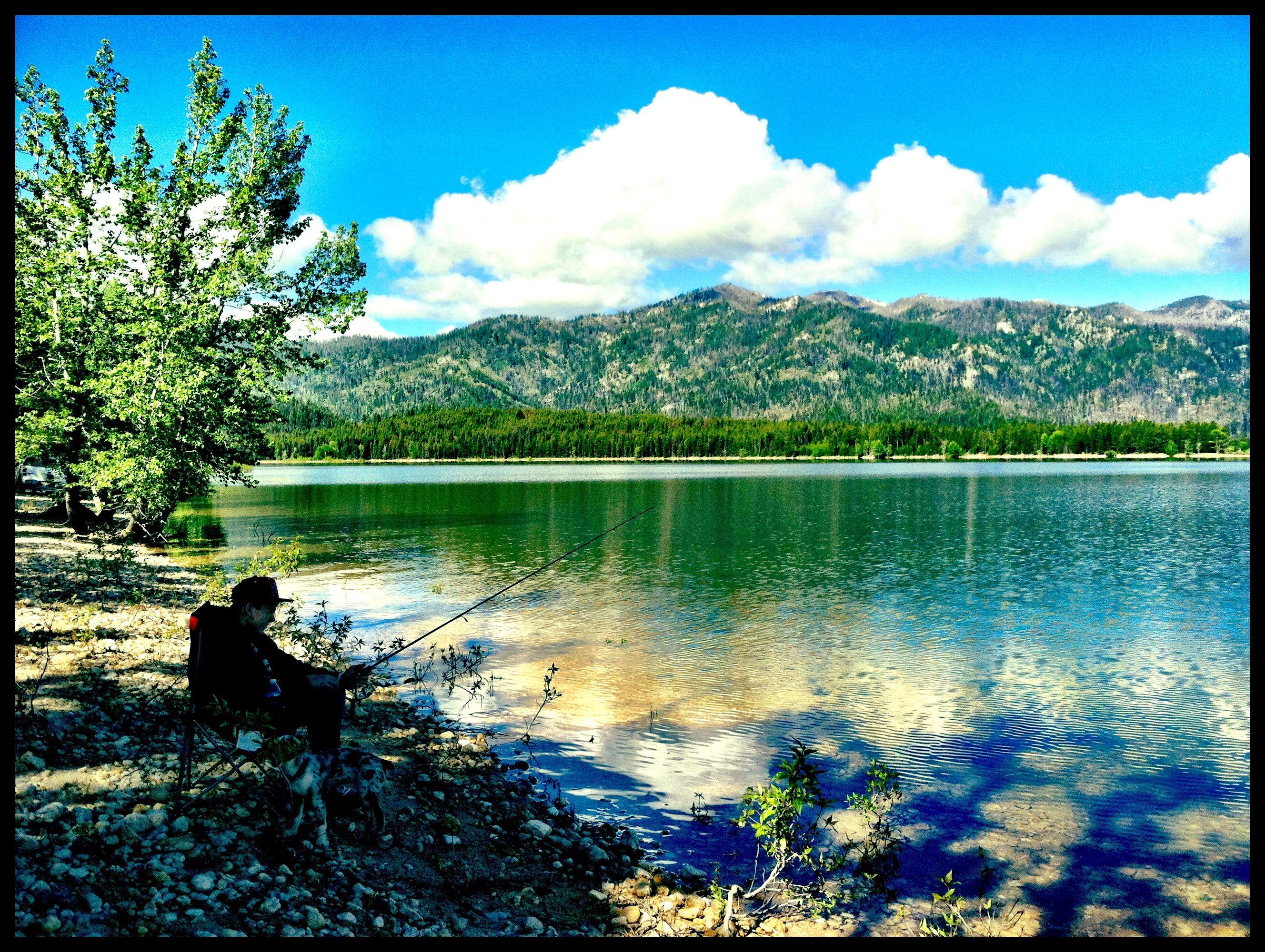 Deadwood Reservoir, Idaho | My Pictures | Outdoor recreation ... on deadwood lake idaho map, western idaho road map, kooskia id map,