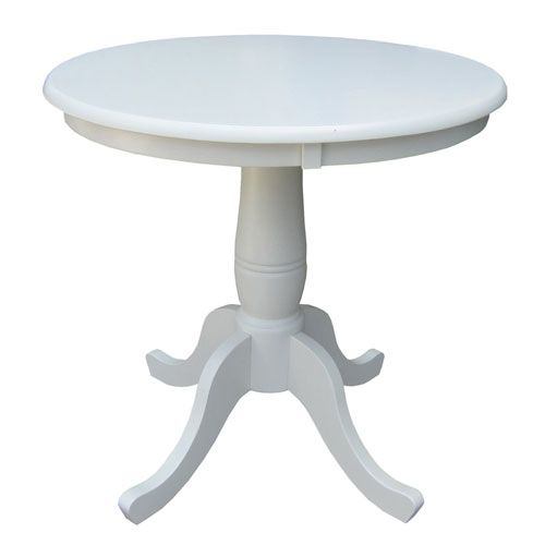International Concepts K31 30rt 30 Inch Tall 30 Inch Round Top