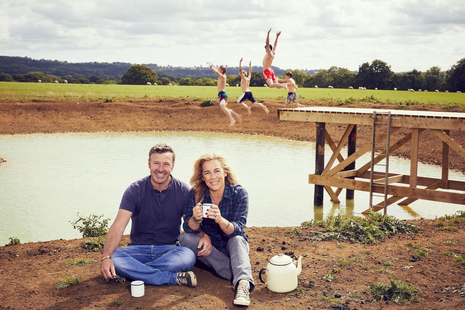 Follow Sarah Beeny S Ambitious Renovation Project With New Channel 4 Series In 2020 People Of Interest News Channels Channel