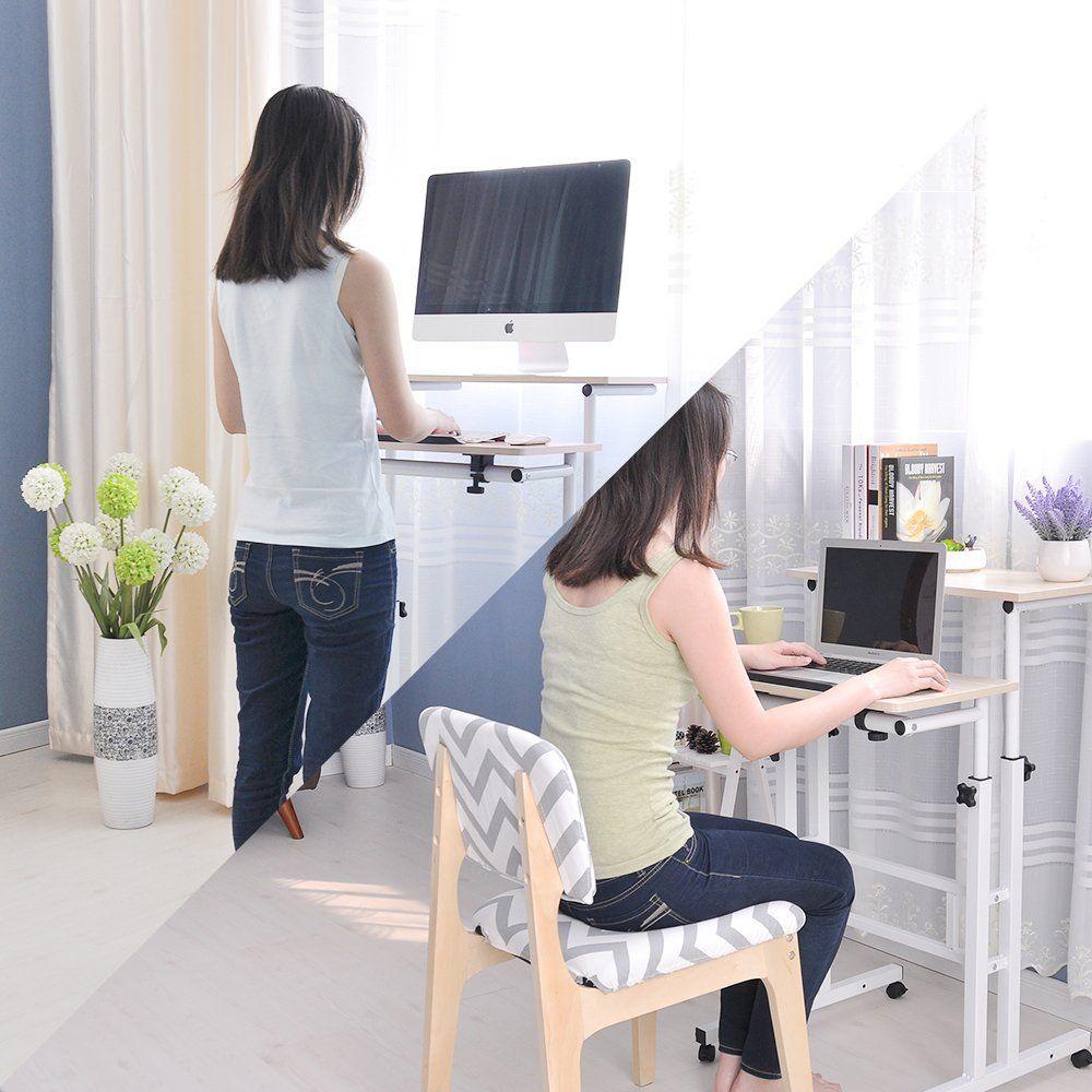 zen office furniture. Soges Adjustable Stand Up Desk Standing Computer Workstation Sit-stand Desktop Desk, Oak Color Zen Office Furniture
