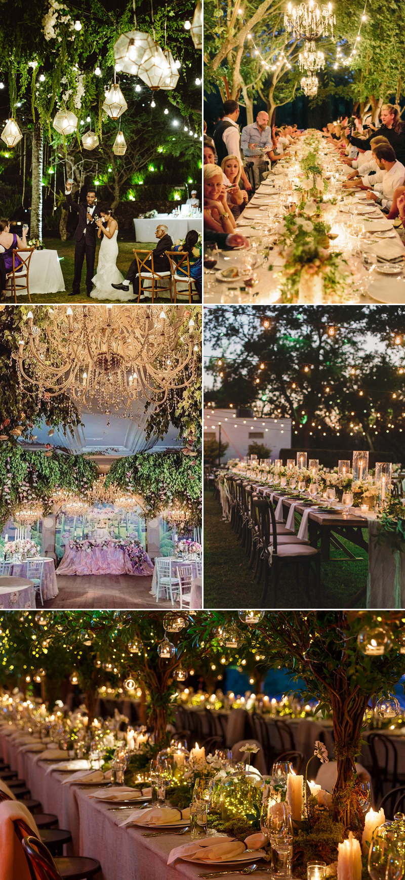 32 Decoration Ideas to Create a Magical Fairy Tale Reception