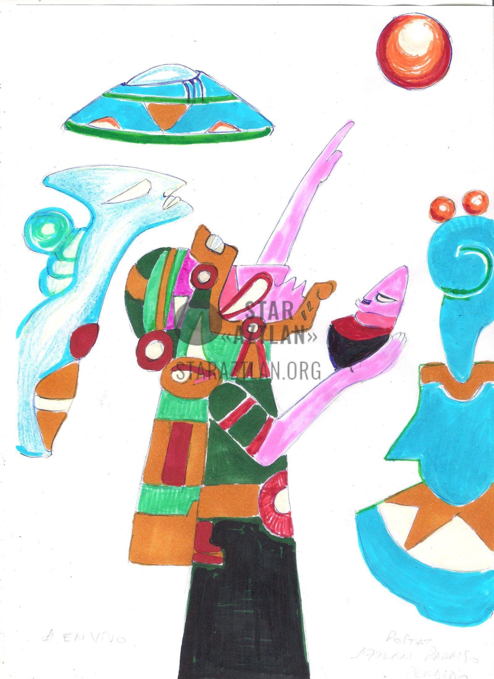 pictures_on_topic (24) | Древние пришельцы, Выставки, Рисунки