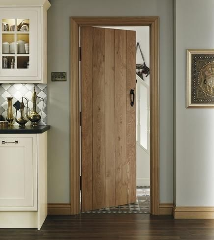 Solid oak ledged and braced internal doors. Doing all the doors ...