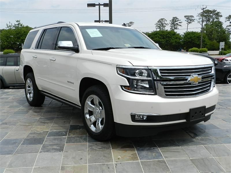 2015 Chevrolet Tahoe Ltz 15004 Miles Cream Exterior Color With A