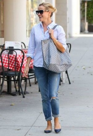 Reese Celine Original Sunglasses In Witherspoon Wearing NavyGoyard QrhsdtC