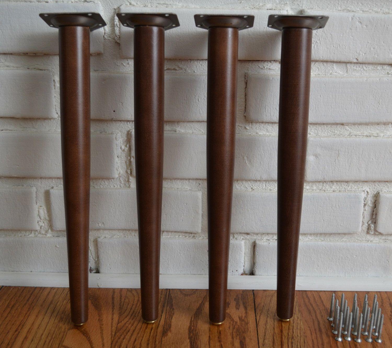 Mid century modern legs diy kit mcm coffee table legs end table legs
