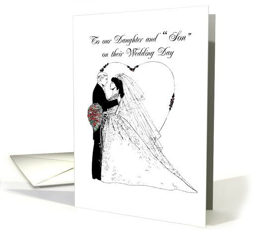 Wedding Wishes To Daughter And Card (159858)