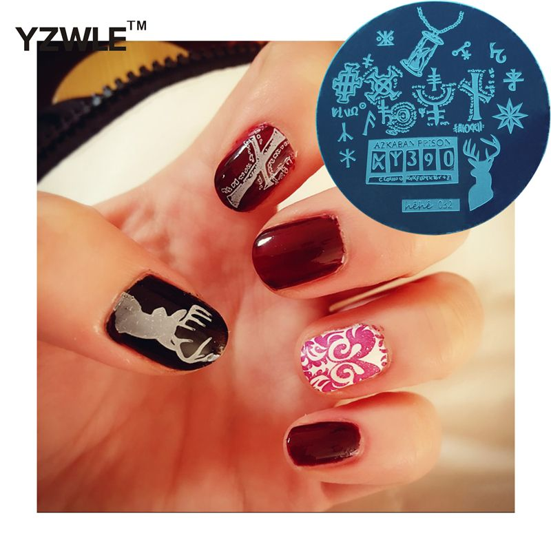 New Arrive Harry Potter Series Nail Art Stamping Plate Best Quality