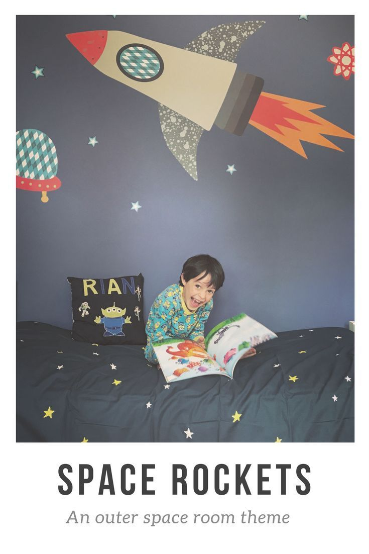 A Space Theme Room – My Statement Wall Project images