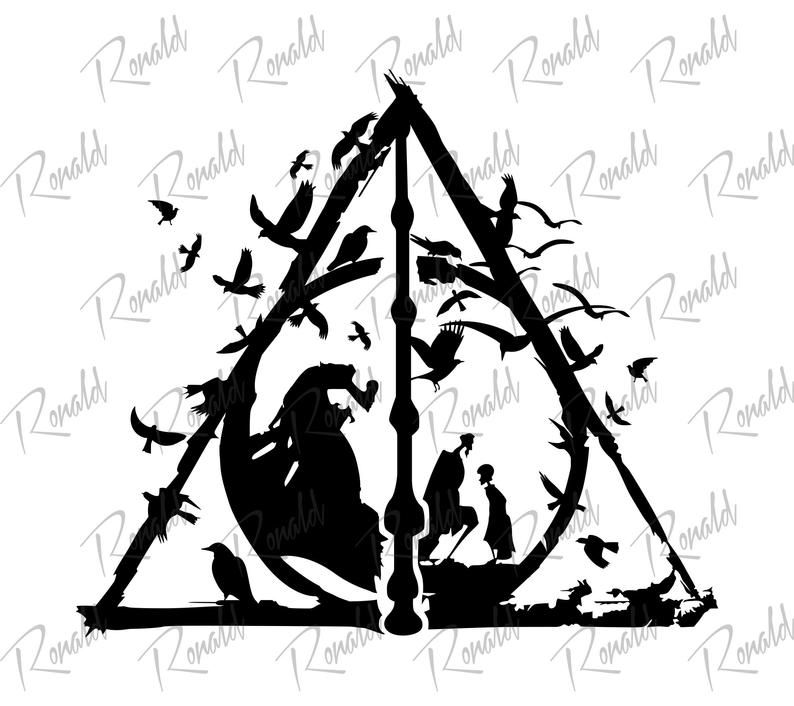 Harry Potter Reliquias De La Muerte Svg Harry Potter Svg Harry Potter Reliquias Svg Deathly Hallows Svg Instant Download Svg Dxf Png Reliquias De La Muerte Harry Potter Personajes De Harry