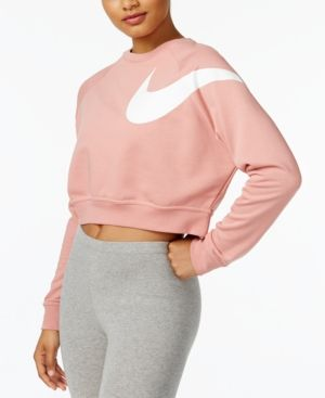 a9d678ccdc25e Nike Dry Cropped Training Top - Red XL