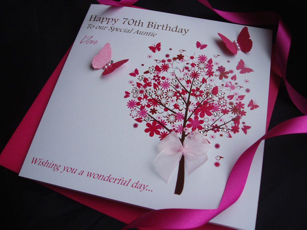 Handmade 60th Ladies Birthday Card Ideas