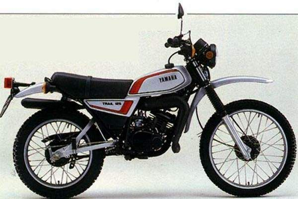 1980 yamaha dt125 euro version vintage dirt pinterest. Black Bedroom Furniture Sets. Home Design Ideas